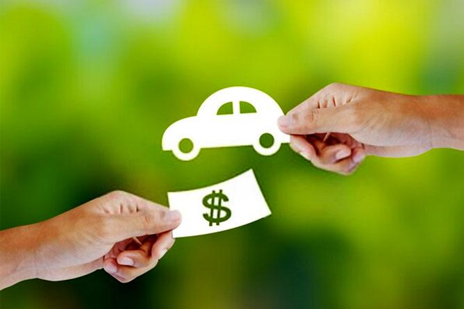 Pagamento elettronico per acquisto auto usata